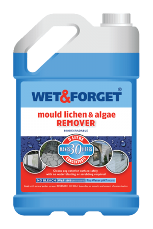 Wet and Forget 5L Moss Mould Algae and Lichen Remover