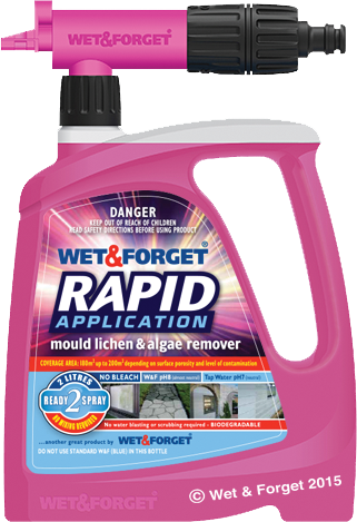Wet Amp Forget Uk Moss Mould Lichen Amp Algae Remover