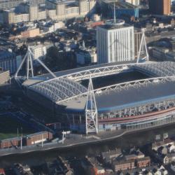 River Taff Walkway - Millennium Stadium, Cardiff