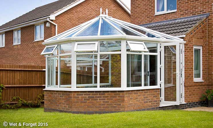 Effective Conservatory Roof Cleaner Wet Forget